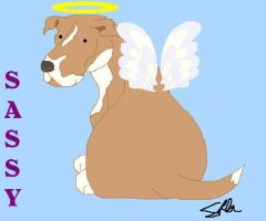 Sassy Angel- MSPaint by faery-dustgirl