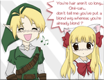 What is a blond family ? by Feena-chan