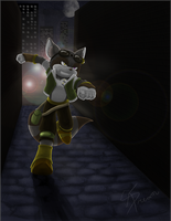 Prize: Rek the racoon by AbsoluteDream