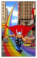 Thor Arrival by 93Cobra