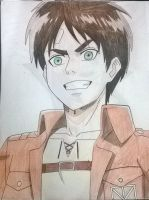 Eren Jeager by shikigami-angel23