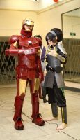 Toph Bei Fong and IronMan by TophWei