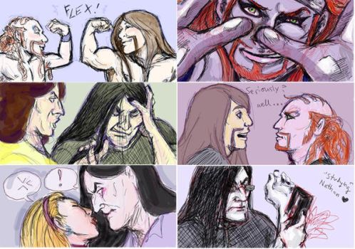 Metalocalypse Facebook Stuff by Ai-Lupin