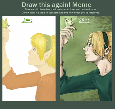 Draw this again! by Gwendoly