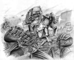 Marines vs Nids by madscuzzy