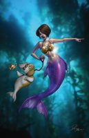 Mermaid Tales 2 by Dominic-Marco