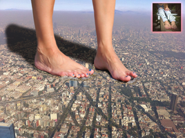 Mega Giantess Destuction Attempt #2 by Parkoal16