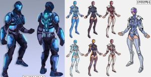 Halo Fore runner workflow pt1 by donVega123