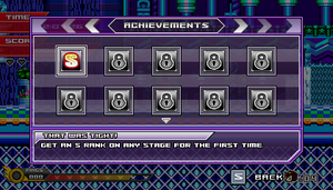 (Sonic vs Darkness) Achievements Menu by Kainoso