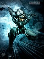 Raiden Metal Gear Rising : Revengeance 01 by ChekydotStudio