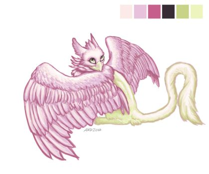 Gryphon - Limited Palette by AnnaRDunster