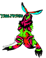 TiddlyWinks The wererabbit by Grizzled-Dog