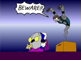 Snake is the Box Ghost by Crimson-Knight77