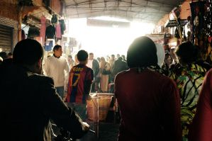 Pedro at the Souk by khoral