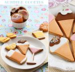 Summer cookies by kupenska