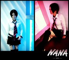Nana: Red and Blue by BanditYinG