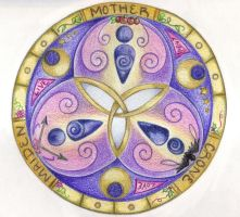 Triple Goddess by Spiralpathdesigns