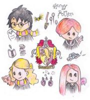 Harry Potter Quad by MakingPicsSlowly