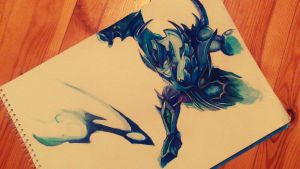 League of Legends: Soul Reaver Draven by Kytru
