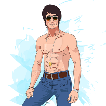 The Legendary Bruce Lee by Draco2005