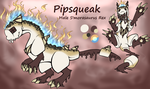 Pipsqueak the S'morasaurus rex Reference by PieCreature
