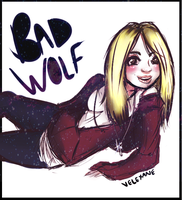 Rose Tyler: Bad Wolf by Velexane