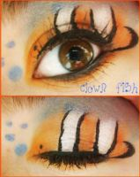 Animal Print Makeup:Clown Fish by Steffmiesterx13