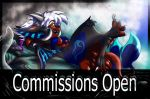 OPEN FOR COMMISSIONS!!! by Zecon