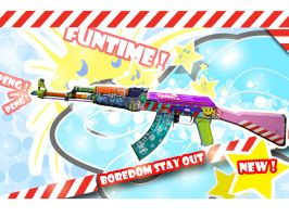 Ak-47 Funtime by Camponotus