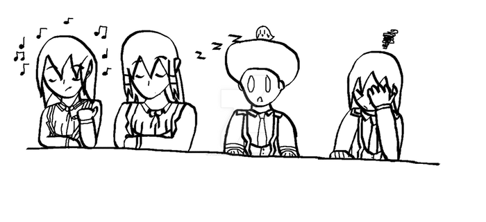 RWBY OC Team RVGE: Prof. Porker's class by Forti-1-ification