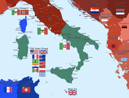 Divided Italy by Hillfighter