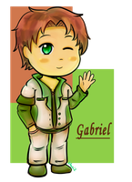 AT: Gabriel by marimariakutsu