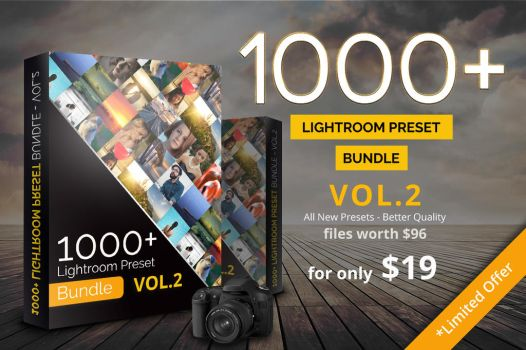 1000+ Lightroom Preset Bundle Vol.2 by pmvchamara
