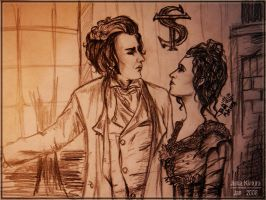 Sweeney Todd + Mrs Lovett by juhjunia