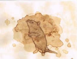 Coffee Rat by AnnieHoppe