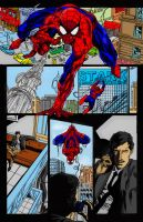Spiderman Comic Page by superjabba425