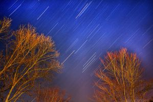 Star Trails by soPWNEDXcore
