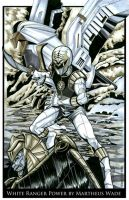 White Ranger Power by martheus