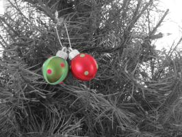 Christmas Ornaments by NinjaWriter808