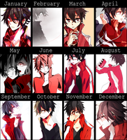 2013 improvement meme (ft. kisaragi shintaro) by Hama-S