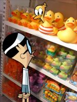 ducky shopping by albadune