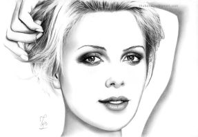 Charlize Theron - minimal pencil art by Thubakabra