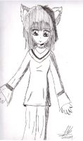 Catgirl's friend by Janica23