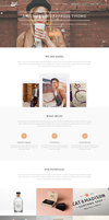 Hazel - Creative WordPress Theme by sandracz
