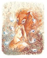 Fox Spirit by Foyaland