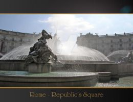 Rome Anthology - Republic Sq. by Geanfrancois