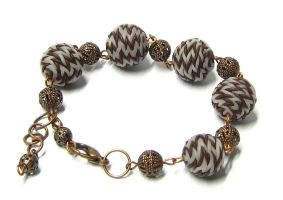 knitted bracelet by MaryMJ