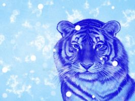 Ancient Tiger of Ice by WarmWishes