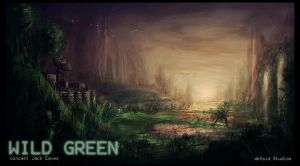 Wild Green by JackEavesArt