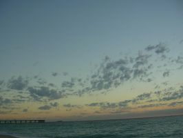 Sunrise At The Pier by JennHolton